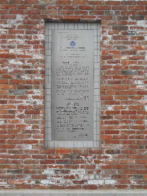 向島捕虜収容所跡(英空軍兵と米...